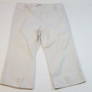 Old Navy Cropped Capri Pants Women's Size 8